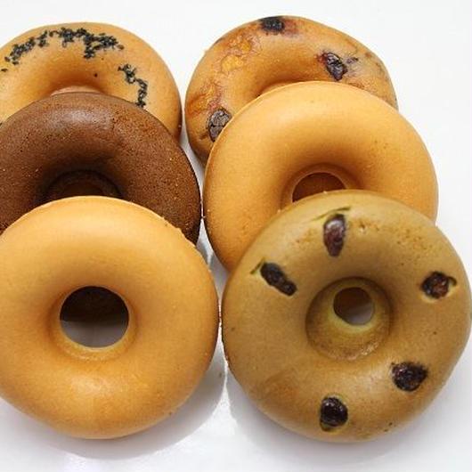 手焼き米粉ドーナツLサイズ6個セット(送料込)