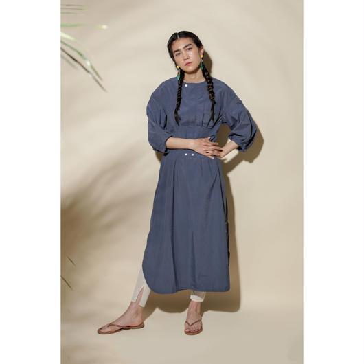 TUSSAH PUFF SLEEVE DRESS(OA1021)