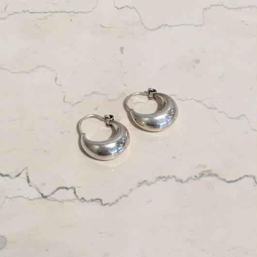 SILVER SMALL CIRCLE EARRINGS(EA1204)