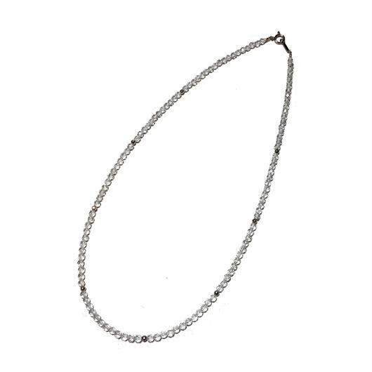 K14WG、水晶ネックレス