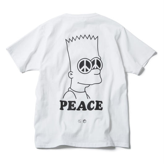 PEACE TEE (WHITE) : ARTWORK by JEROEN【CC17SS-004】