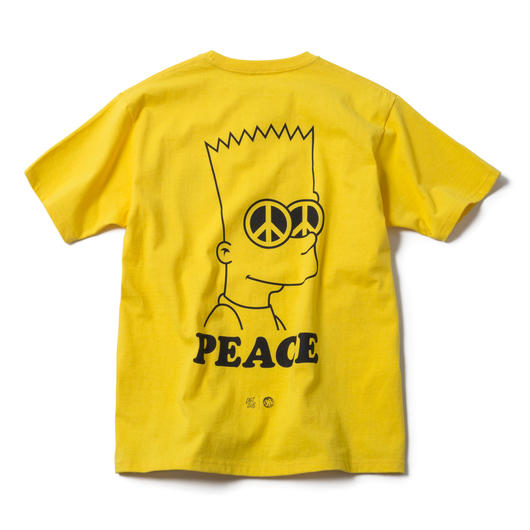 PEACE TEE (YELLOW) : ARTWORK by JEROEN【CC17SS-004】