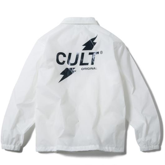 CRUSH COACH JACKET (WHITE) 【CC17AW-019】