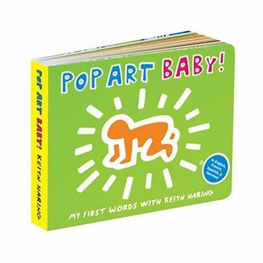 アートブック by KEITH HARING : POP ART BABY! Board Book【KH-008】