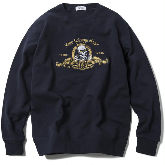 ROARING RIPPER CREWNECK (NAVY) :  ARTWORK by JEROEN【CC17AW-018】
