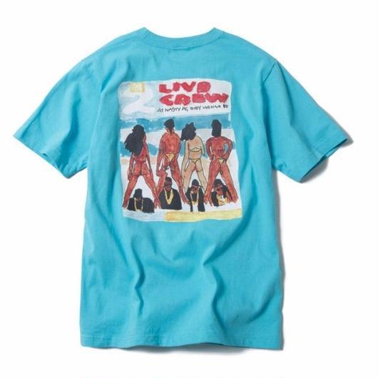 2LIVE TEE (SKY BLUE) : YUNG LENOX【CC17AW-001】