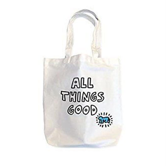 Kieth Haring Tote Bag : ALL THINGS GOOD【KH-028】
