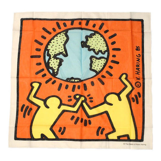 Keith Haring Bandana Yellow【KH-003】