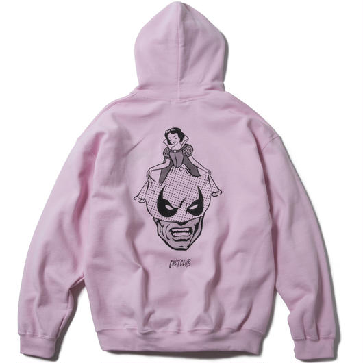 A SUNDAY SMILE HOODY  (PINK) : ARTWORK by  JEROEN【CC17AW-017】
