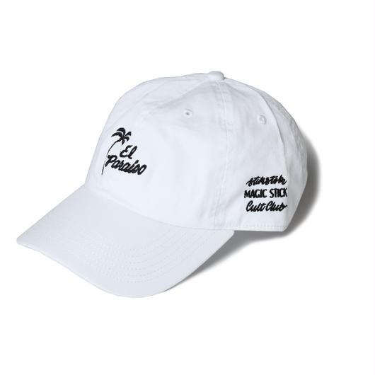 EL PARAISO CLASSIC CAP (WHITE) :  STIKSTOK  × MAGIC STICK【16AW-CULT-004】