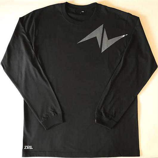 5.6オンス ロングスリーブTシャツ Zマーク  チャコール