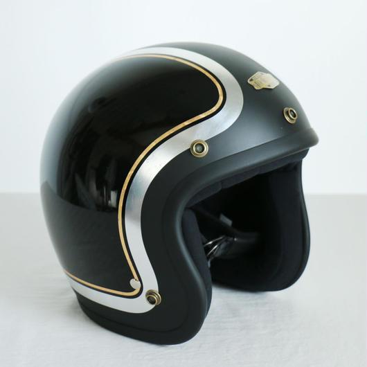 ジェットヘルメット カーボンデザイン