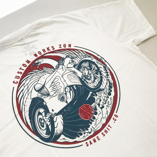 ZON x same shit T-shirt