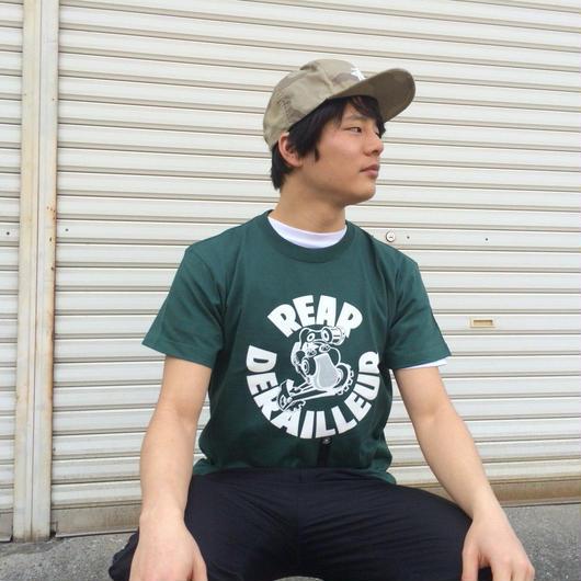 リアディレイラーTシャツ(アイビーグリーン)
