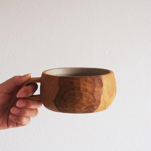 たま木工 スープカップ/イタジイ・相思樹 TAM-02
