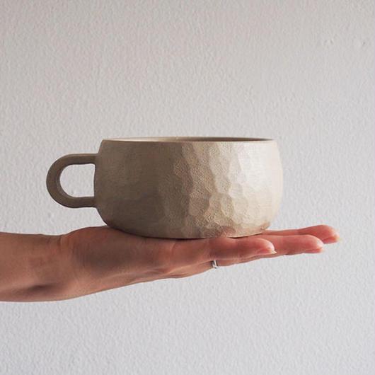 たま木工 スープカップ/漆 TAM-04