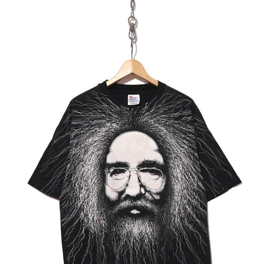 90's JERRY GARCIA Hanesボディ 両面プリント Tシャツ コピーライト