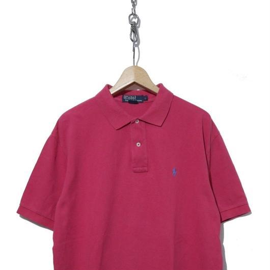 90's  Polo by Ralph Lauren 鹿の子 半袖ポロシャツ PINK