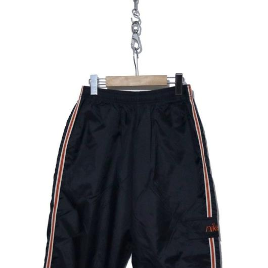 90's nike NYLON PANTS カーゴポケット付き D/NAVY