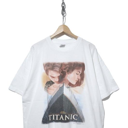 """希少 90's 映画フォトプリントTシャツ """"TITANIC"""" XLサイズ USA製"""