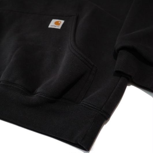 Carhartt  Wフェイスプルパーカー ブラック Sサイズ