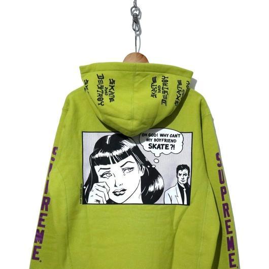 """新品 タグ付き SUPREME×Thrasher Hooded Sweatshirt """"Boyfreind"""""""