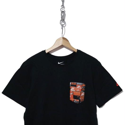 "NIKE ""VINTAGE BOX""  Pocket Tシャツ BLK"