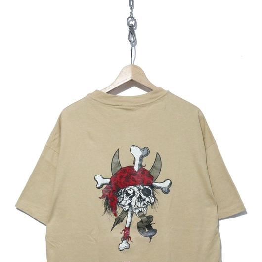 """90's Hanesボディ Zorlac 両面プリント Tシャツ """"Pushead"""" XLサイズ"""
