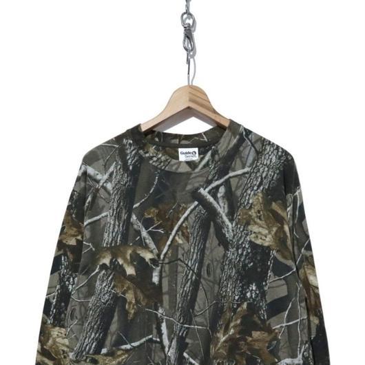 90's  リアルツリーカモフラ総柄 ロングスリーブTシャツ Lサイズ