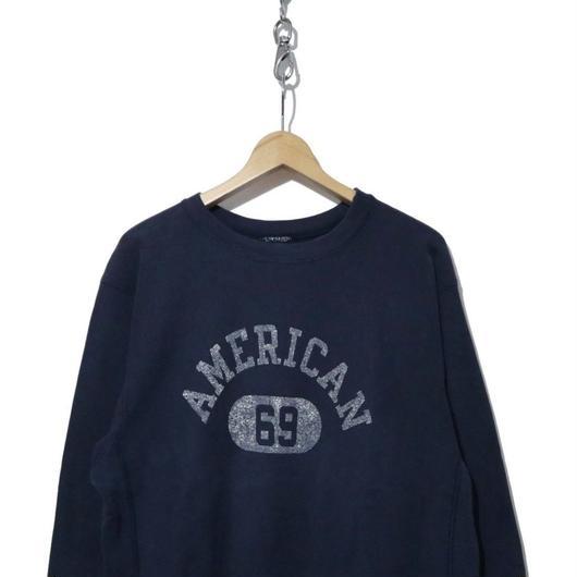 "80's CHAMPION REVERSE WEAVE SWEAT ""AMERICAN 69"""