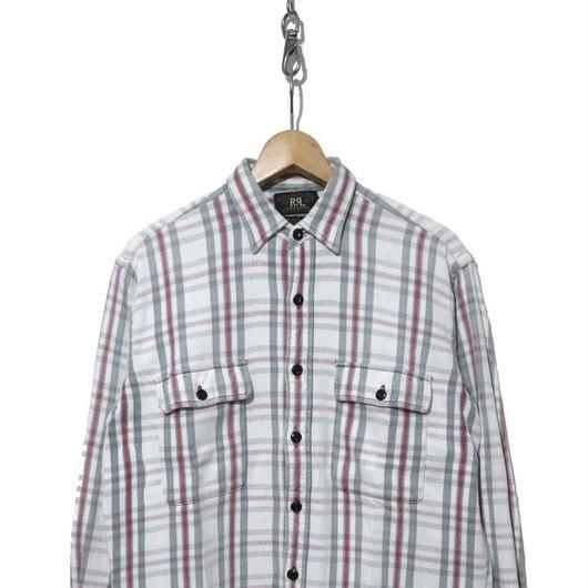 RRL RALPH LAUREN チェック ヘビーネルシャツ Sサイズ