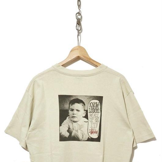 90's OLD STUSSY ベイビーフォトプリント Tシャツ 黒タグ USA製