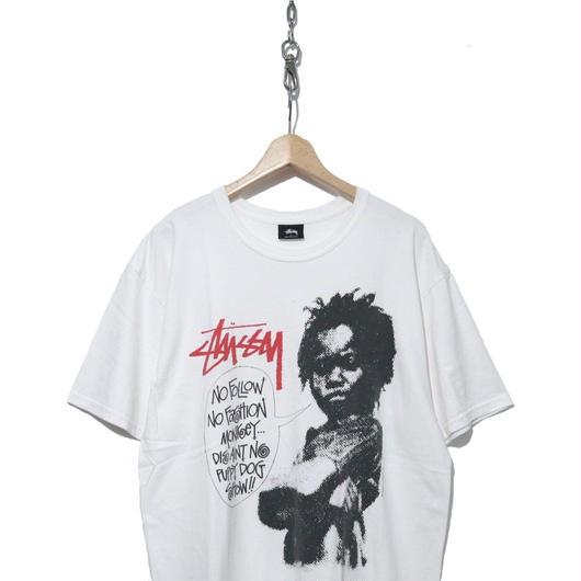 STUSSY✕Dover Street Market フォトプリント Tシャツ WHITE