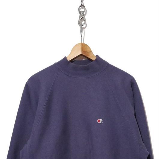 90's CHAMPION リバースSW ハイネック ポケット付 クロッカス XL