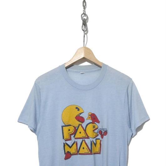 """80's 企業物 キャラクター プリント Tシャツ """"PAC MAN"""" SAX"""