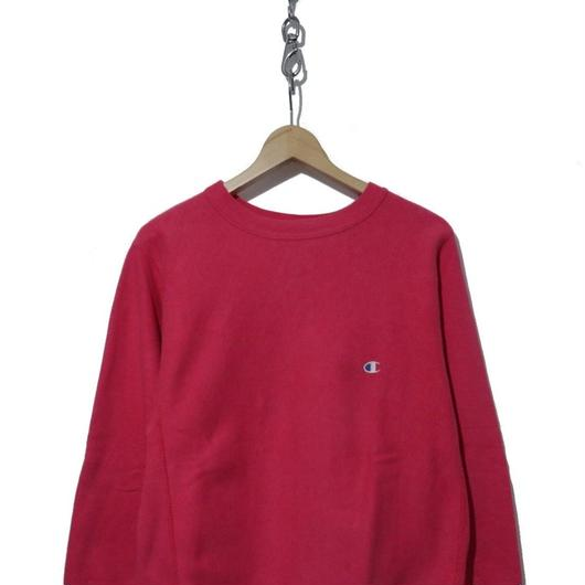 """90's CHAMPION REVERSE WEAVE SWEAT """"SOLID"""" PINK USA製"""