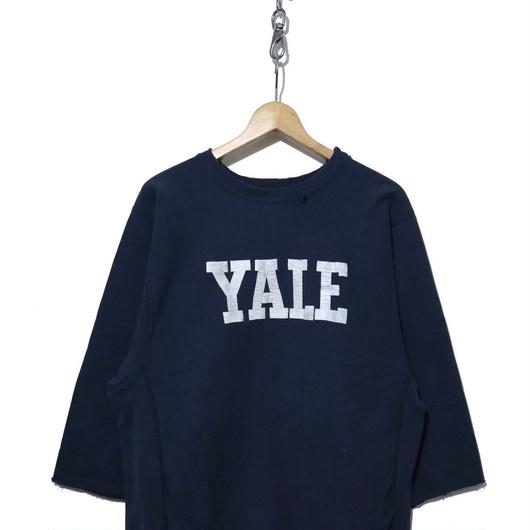 "80's CHAMPION REVERSE WEAVE SWEAT ""YALE"" カットオフ XL"