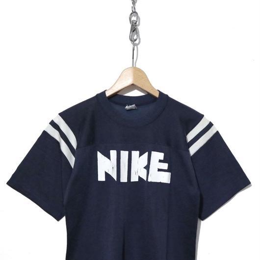 """70's NIKE プリントTシャツ """"ゴツナイキ"""" オレンジタグ USA製"""