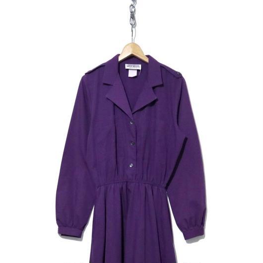 """""""レディース"""" 80's The American shirt Dress コットンワンピース USA製"""