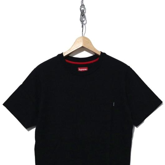 美品 Supreme Pocket Tee SOLID BLACK Sサイズ
