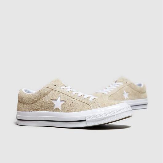 新品 国内未入荷 Converse One Star Premium Suede Low BEIGE 24cm/24.5cm