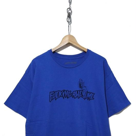 """FUCKING AWESOME """"FUCK"""" プリントTシャツ BLUE"""