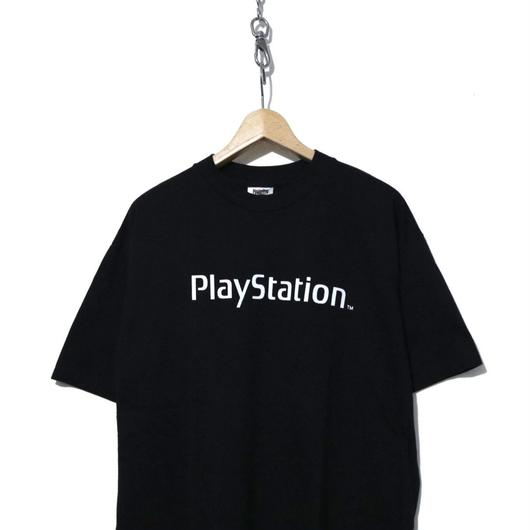 "90's NOS ""PLAY STATION"" 両面プリント Tシャツ BLACK XLサイズ"