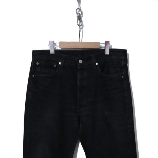 LEVI'S 501 BLACK Denim Pants (実寸W33)