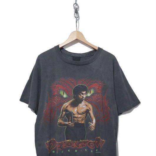 90's Changesボディ BRUCE LEE 両面 プリントTシャツ Lサイズ USA製