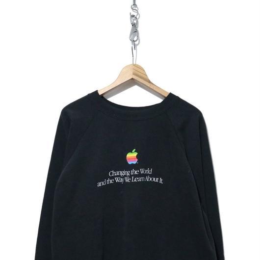 """90's Hanes """"Apple"""" プリント スウェット XXLサイズ USA製"""