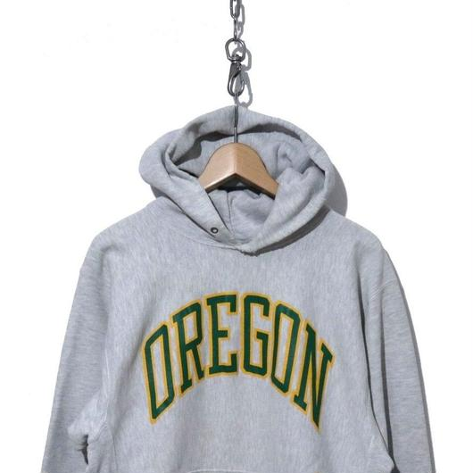 "90's CHAMPION REVERSE WEAVE SWEAT PARKA ""OREGON"" XL"