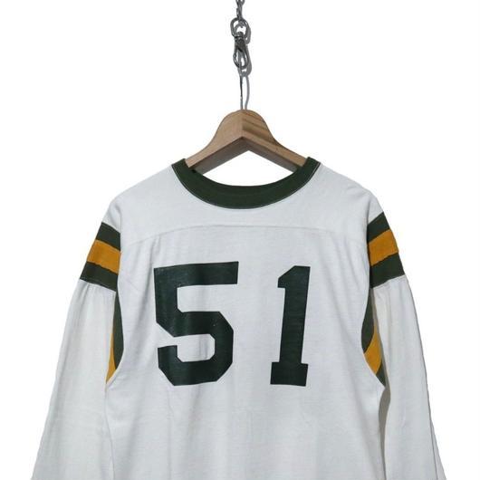 60's CHAMPION プロダクツ ナンバリング フットボールTシャツ