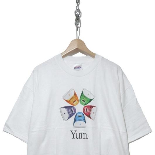 "90's  Deadstock Hanesボディ プリントTシャツ iMac G3 ""YUM"""