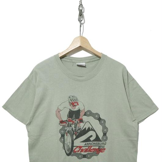 """90's Cycling 両面プリントTシャツ """"CANNONSBURG"""""""